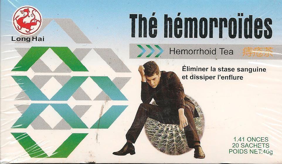 thé hémorroïdes