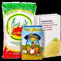 Grain et riz